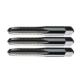 WIDIA GTD 2748623 5305 General Purpose Straight Flute Thread Cutting Hand Tap Set, 3 Pieces, #12-28, UNF, 4 Flutes, Right Hand